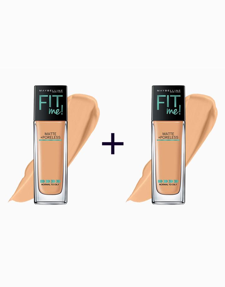 Fit Me Matte Poreless Liquid Foundation (Buy 1, Take 1) by Maybelline | 310 Sun Beige