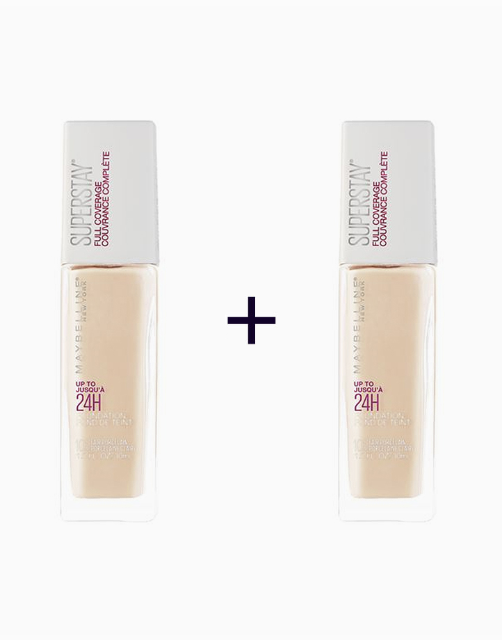 Super Stay 24H Full Coverage Foundation (Buy 1, Take 1) by Maybelline   320 Honey