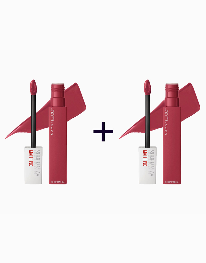 SuperStay Matte Ink Liquid Lipstick (Buy 1, Take 1) by Maybelline   Ruler