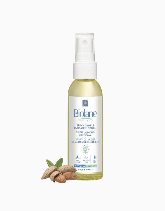 Sweet Almond Oil Spray (75ml) by Biolane