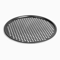 Re premium non stick pizza pan   32.5x32.5x1cm