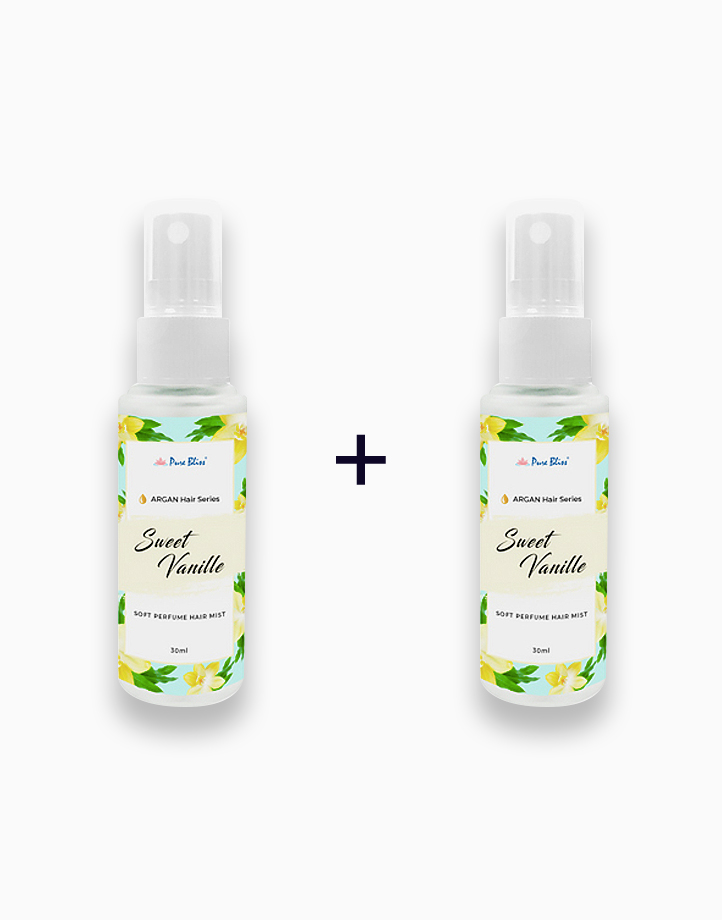 Argan Hair Series Sweet Vanille Hair Perfume (30ml) (Buy 1, Take 1) by Pure Bliss