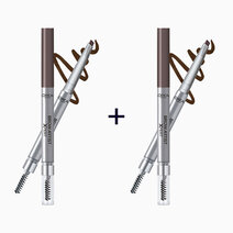 B1t1 loreal brow artist xpert 2 in 1 brow pencil %28buy 1  take 1%29 shade  107 cool brunette