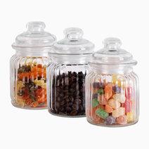 Glass Jar (300ml) - Set of 3 by Sunbeams Lifestyle