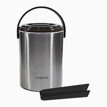 Re stainless ice bucket with ice tong %282.2l%29