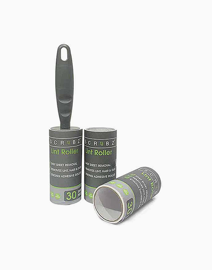 Lint Roller - Set of 3 by Sunbeams Lifestyle   Black