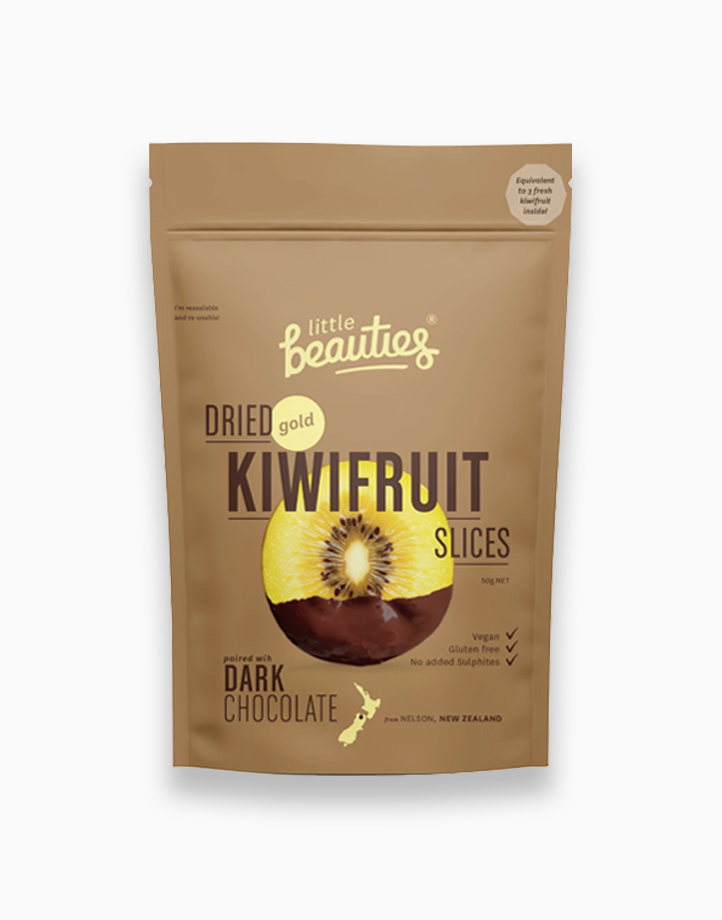 Gold Kiwifruit with Dark Choco by Little Beauties