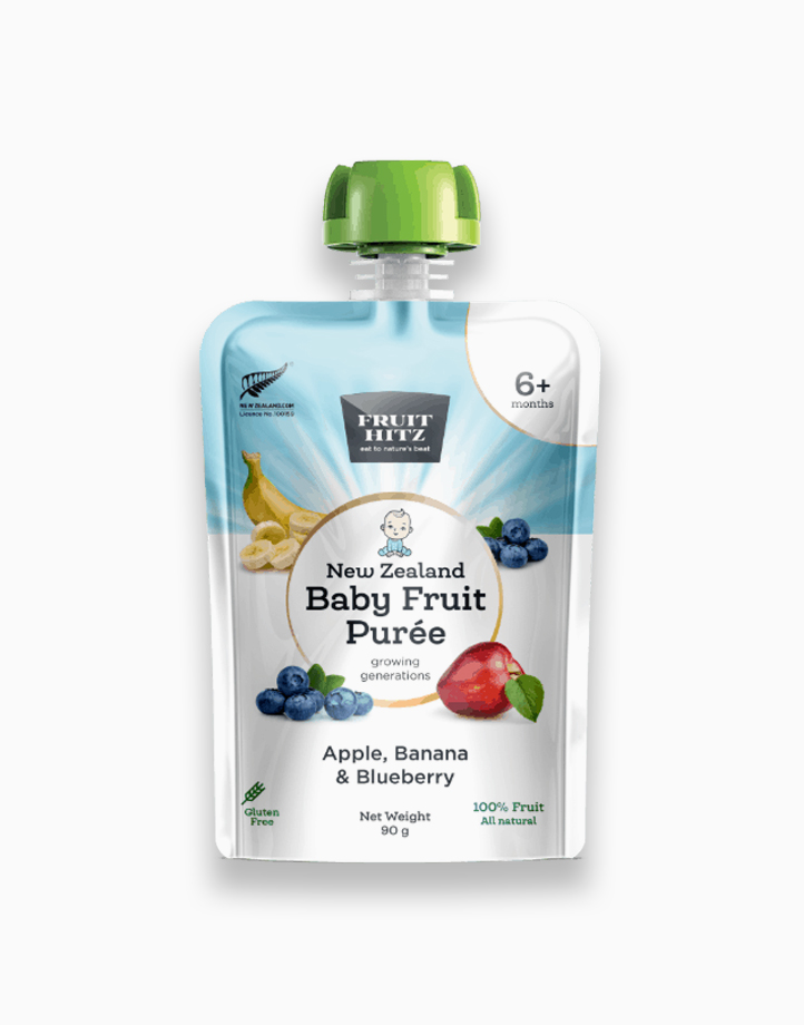 Baby Fruit Puree - Apple, Banana, & Blueberry by New Zealand Apple Products