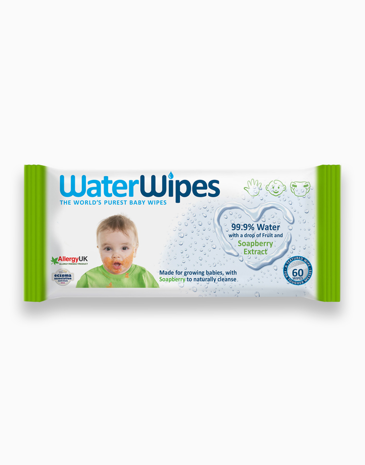 WaterWipes Soapberry (60 Pack) by WaterWipes