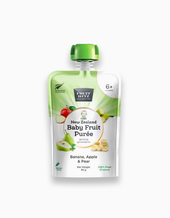 Baby Fruit Puree - Banana, Apple, & Pear by New Zealand Apple Products
