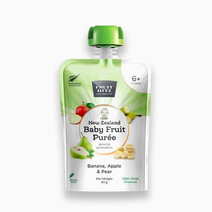 Baby fruit puree banana  apple  pear