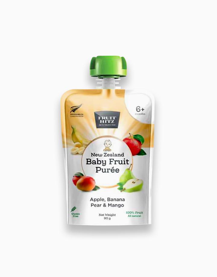 Baby Fruit Puree - Apple, Banana, Pear, & Mango by New Zealand Apple Products