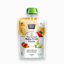 baby fruit puree apple  banana  pear  mango
