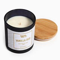Vanilla Oud Soy Candle (10oz) by Happy Island