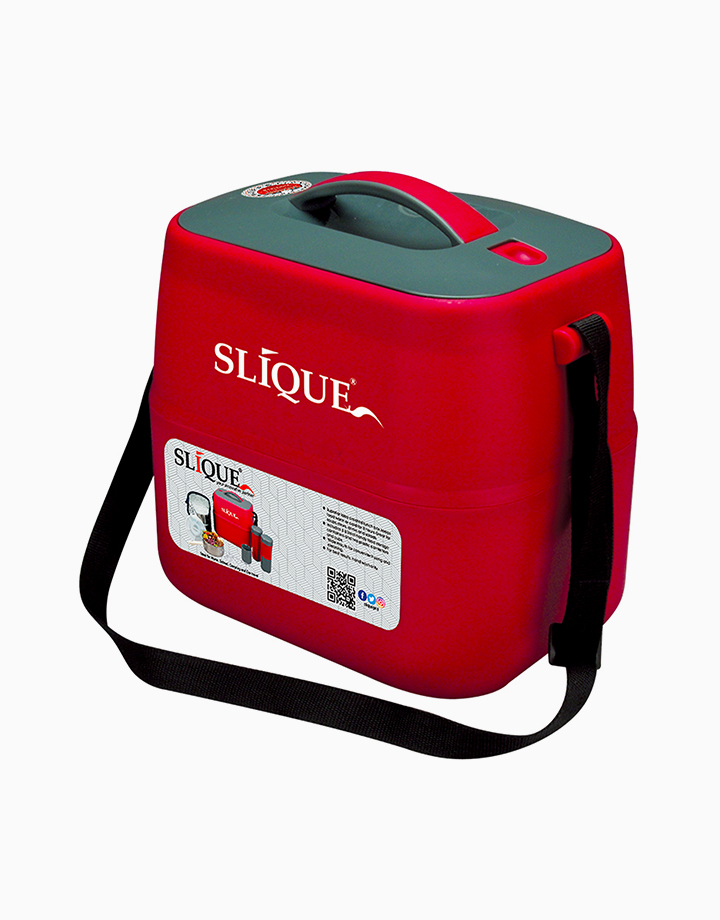 Lunch Box Set (3.6L) by Sunbeams Lifestyle   Red