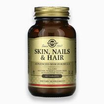 Skin, Nails & Hair Advanced MSM Formula (60 Tablets) by Solgar