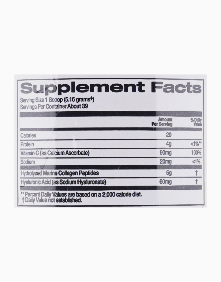 CollagenUP Marine Hydrolyzed Collagen + Hyaluronic Acid + Vitamin C - Unflavored (7.26oz / 206g) by California Gold Nutrition