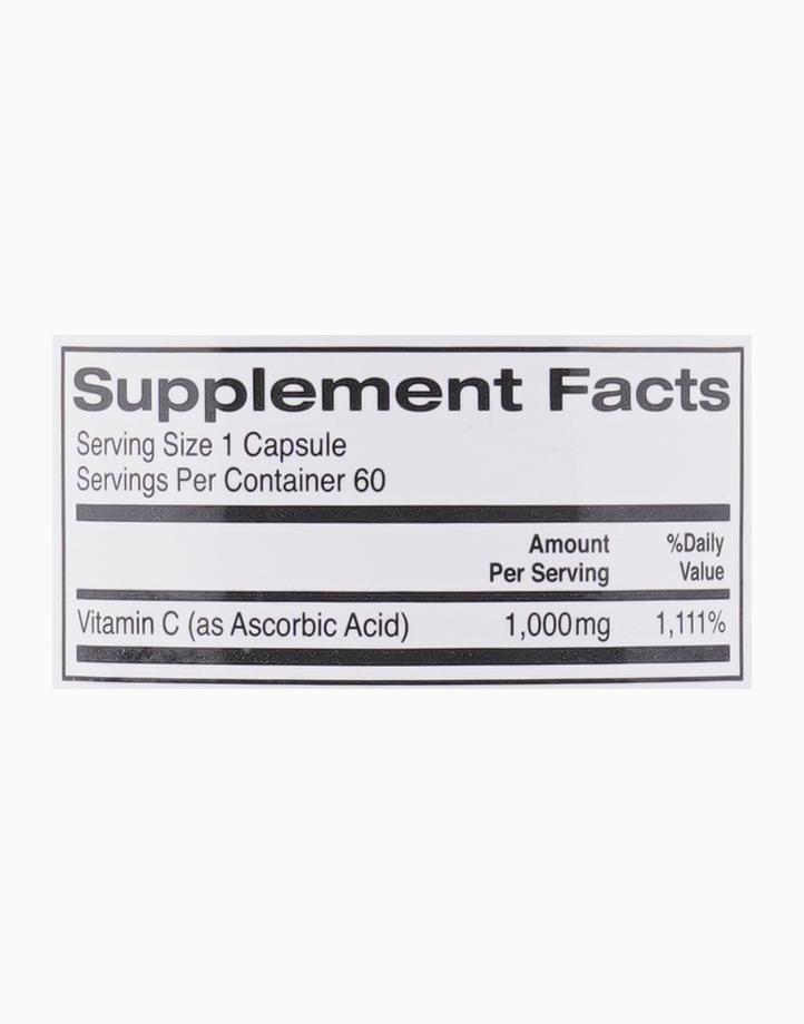 Gold C Vitamin C (1000mg, 60 Veggie Capsules) by California Gold Nutrition