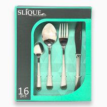 Re 16pc cutlery set green