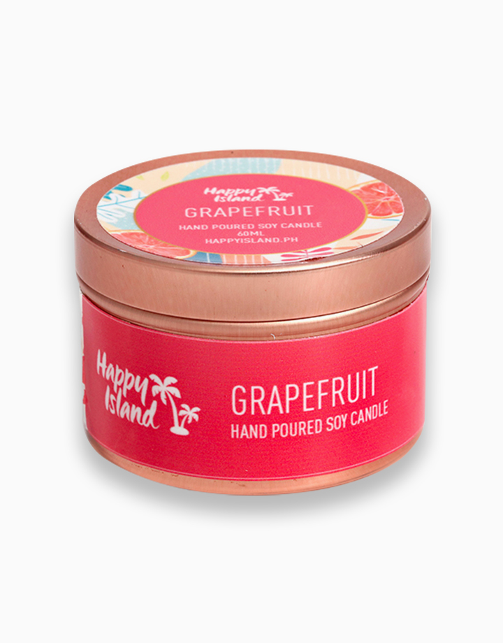 Grapefruit Soy Candle (2oz/60ml) by Happy Island