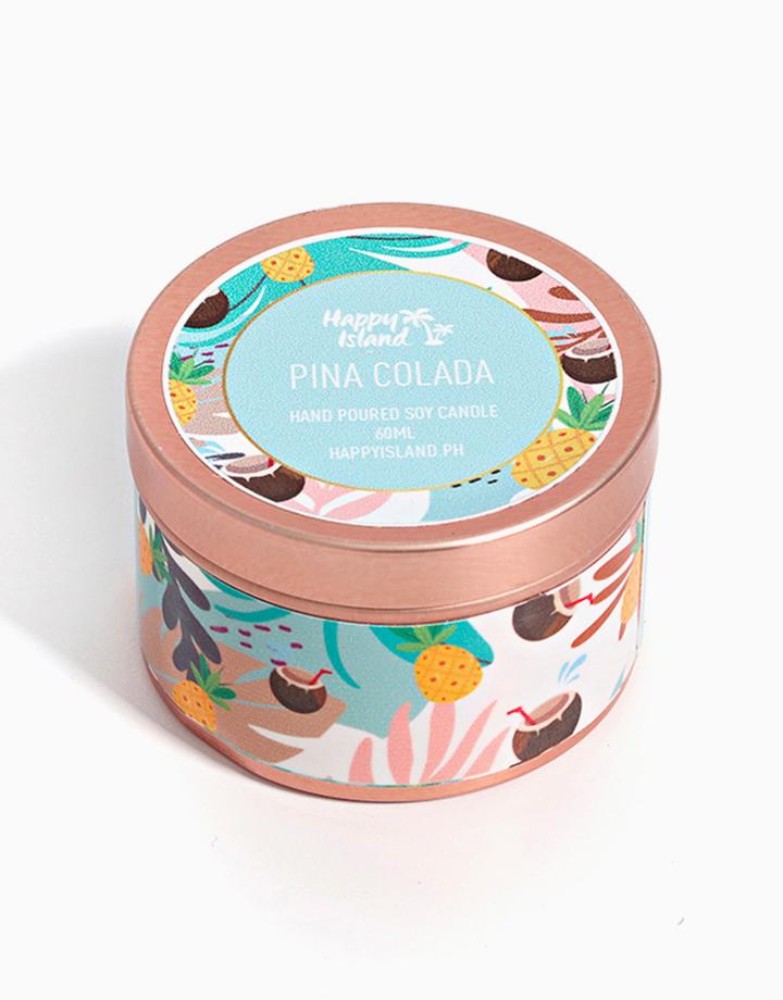 Piña Colada Soy Candle (2oz/60ml) by Happy Island