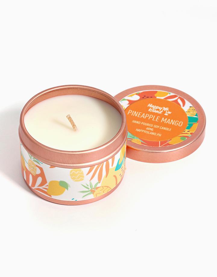 Pineapple Mango Soy Candle (2oz/60ml) by Happy Island