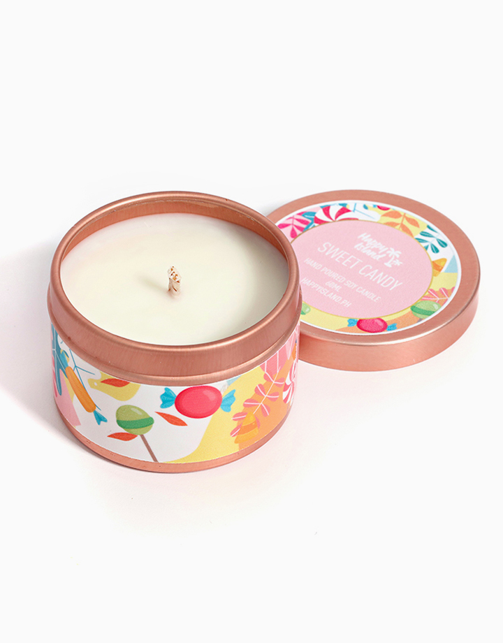 Sweet Candy Soy Candle (2oz/60ml) by Happy Island