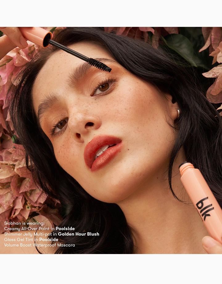 Volume Boost Waterproof Mascara by BLK Cosmetics | Black