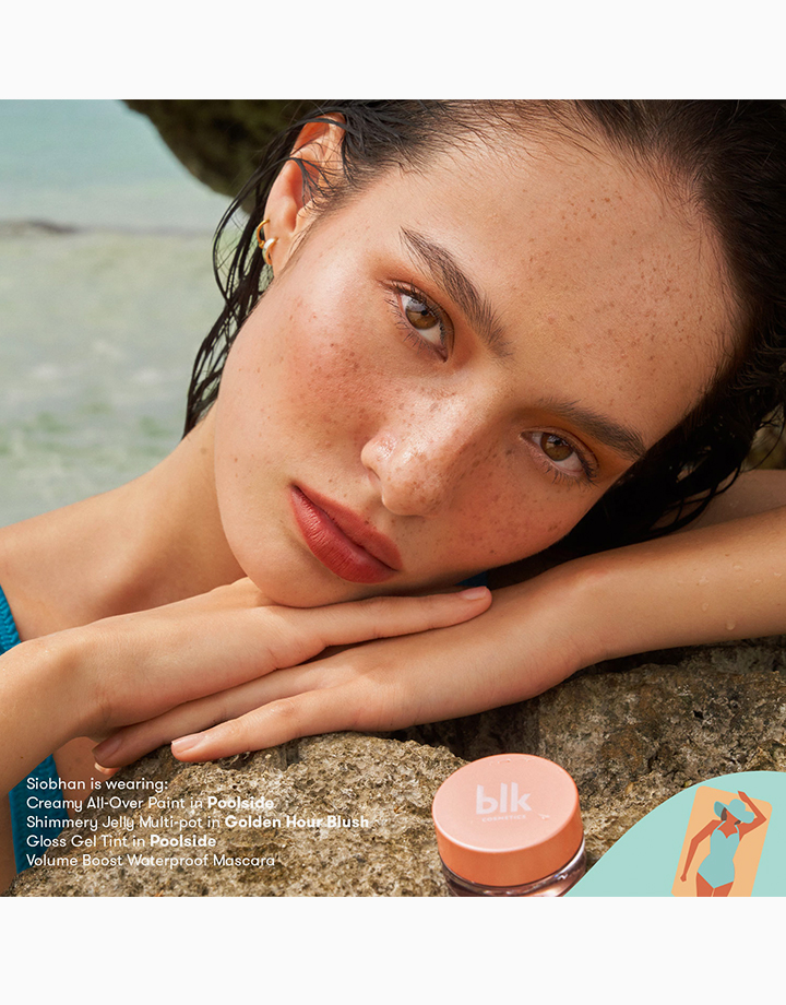 Fresh Sunkissed Shimmer Jelly Multi-Pot by BLK Cosmetics   Golden Hour Blush