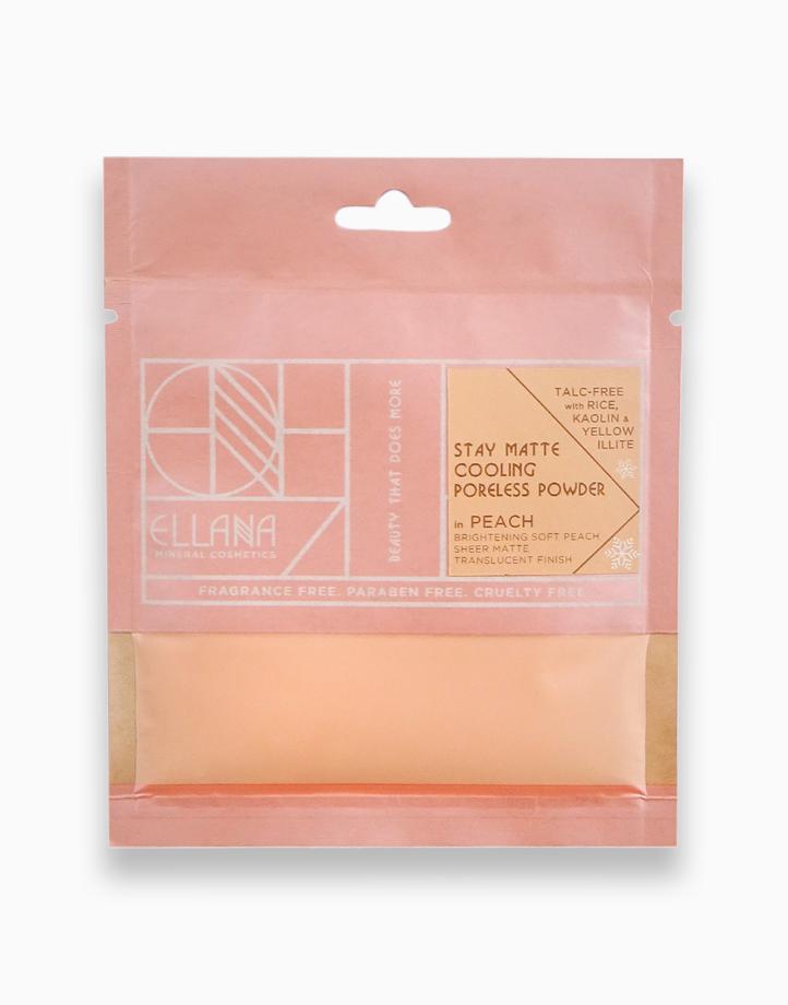 Stay Matte Poreless Powder Refill by Ellana Mineral Cosmetics | Cooling (Peach)