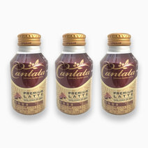 Premium Latte (275ml) - Pack of 3 by Cantata