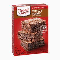 Re duncan hines chewy fudge brownie mix %2815.25oz%29
