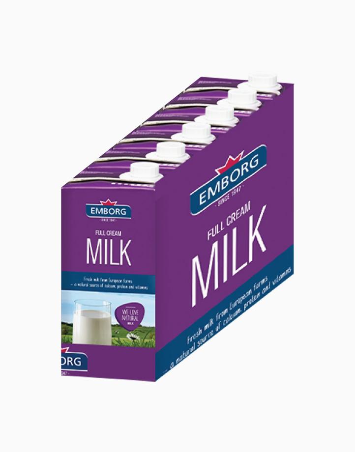 Full Cream Milk Half Case (1L) - (Box of 6) by Emborg