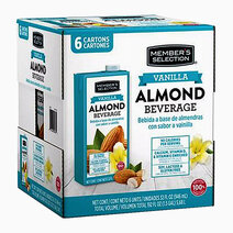 Re member s selection almond milk vanilla flavor %2832oz%29   pack of 6