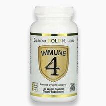 Immune 4 Immune System Support (180 Veggie Capsules) by California Gold Nutrition