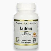 Lutein w/ Zeaxanthin (20mg, 120 Veggie Softgels) by California Gold Nutrition