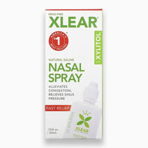 Xlear Natural Saline Nasal Spray with Xylitol - Fast Relief (0.75floz / 22ml) by Xlear
