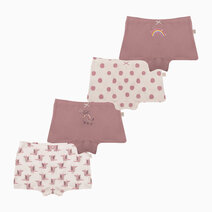 Move Tango Four-Pack Boyshorts for Girls by Meet My Feet