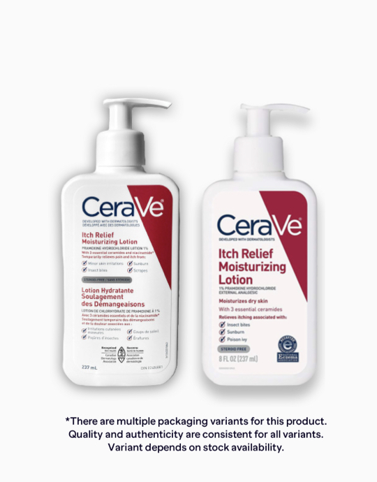 Itch Relief Moisturizing Lotion by CeraVe