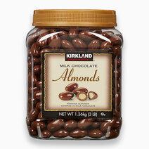 Re kirkland signature milk chocolate almonds %281.36kg%29