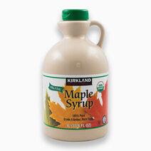 Re kirkland signature organic maple syrup %281l%29