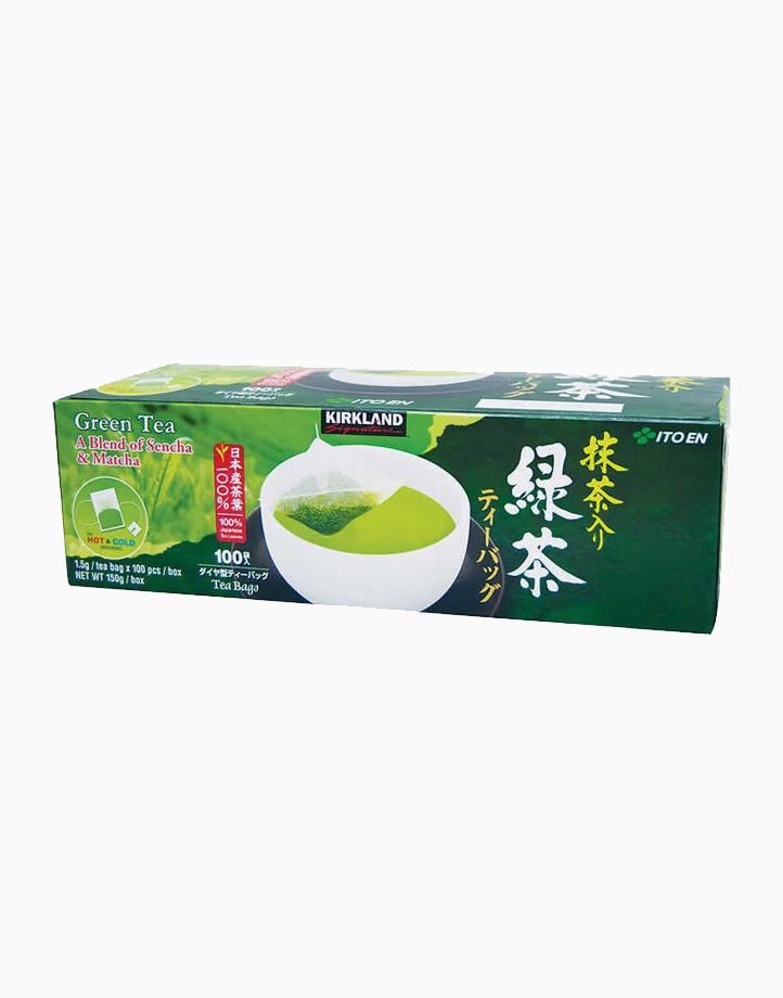 Kirkland Signature Japanese Green Tea Teabags (1.5g x 100 bags) by Kirkland