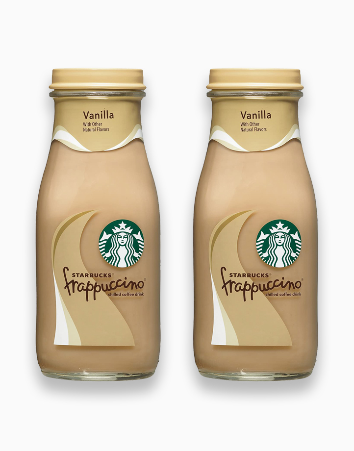 Starbucks Frappuccino Drink 281ml (Pack of 2) by Starbucks | Vanilla