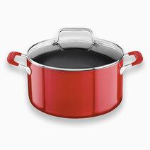 Kitchenaid 6qt aluminum nonstick stockpot with lid