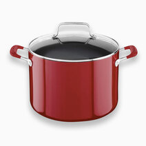 Aluminum Nonstick Stockpot (8Qt) with Lid by KitchenAid