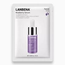 Re blueberry serum facial mask 25ml