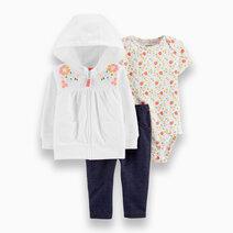 3-Piece Floral Little Jacket Set by Carter's