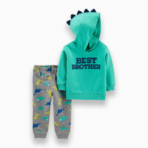 2-Piece Best Brother Hoodie & Dinosaur Jogger Set by Carter's