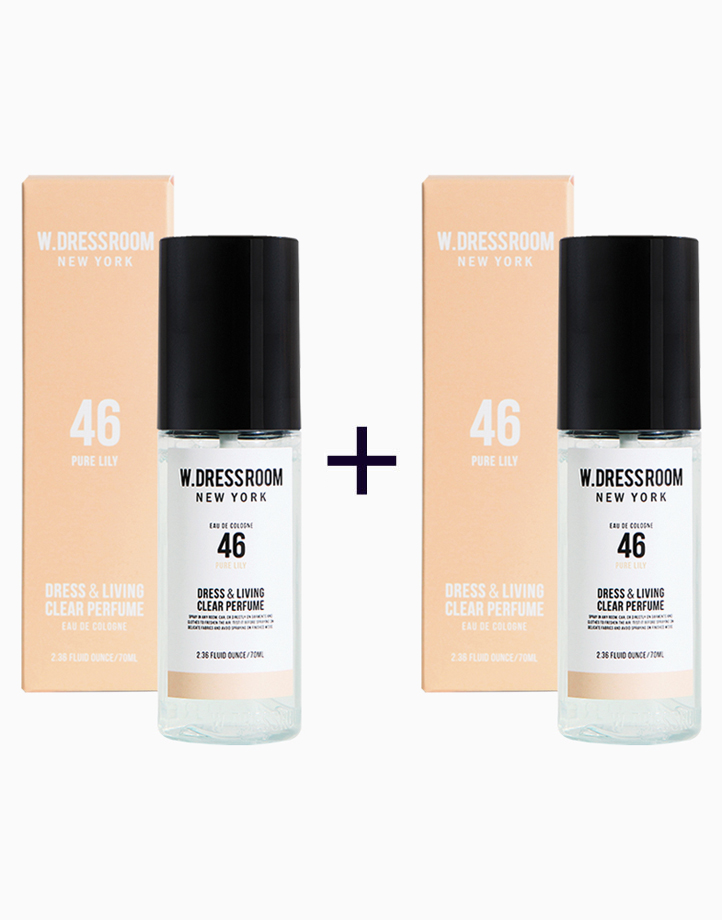 Dress & Living Clear Perfume No. 46 (Pure Lily) (Buy 1, Take 1) by W.Dressroom