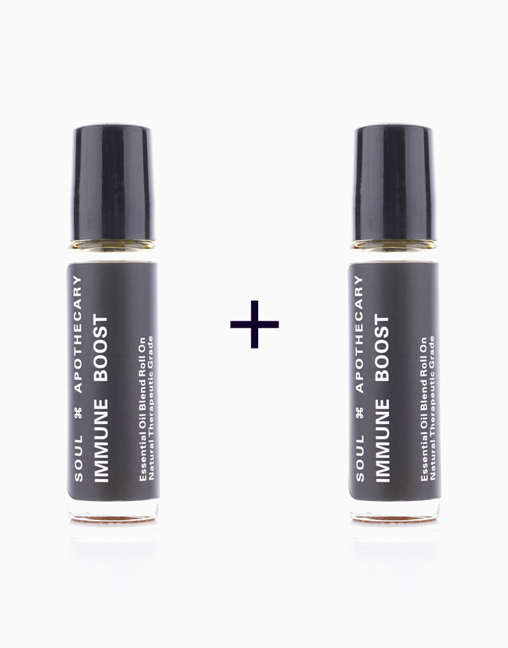 Immune Boost Essential Oil Blend Roll On (10ml) (Buy 1, Take 1) by Soul Apothecary